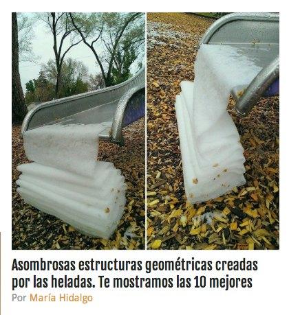 ESTRUCTURAS GEOMETRICAS HIELO GRAFICO