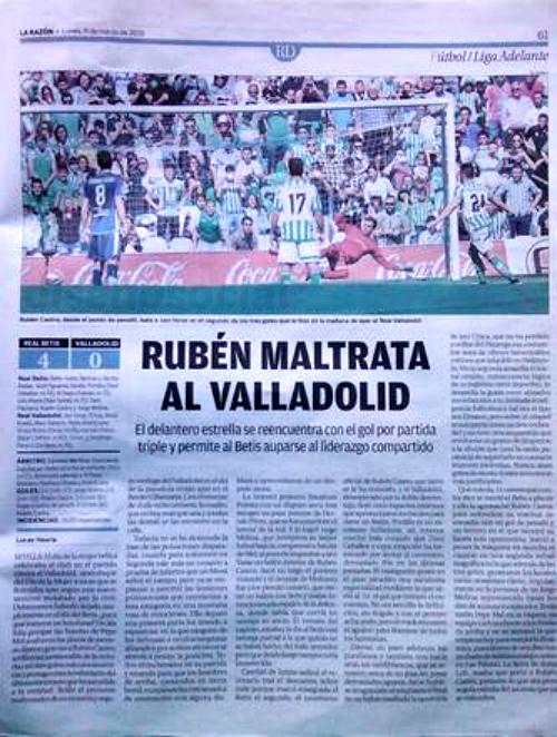 RUBEN MALTRATA AL VALLADOLID