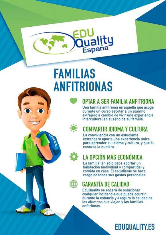 eduquality españa familias anfitrionas